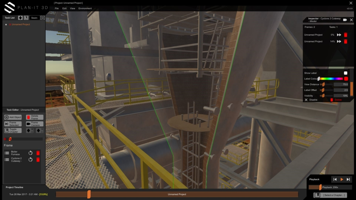 Planned Maintenance in Virtual Reality