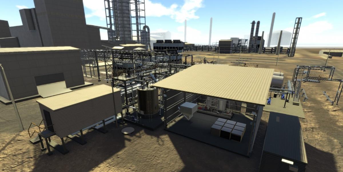 CSBP Ammonium Nitrate Emulsion Plant MacroView