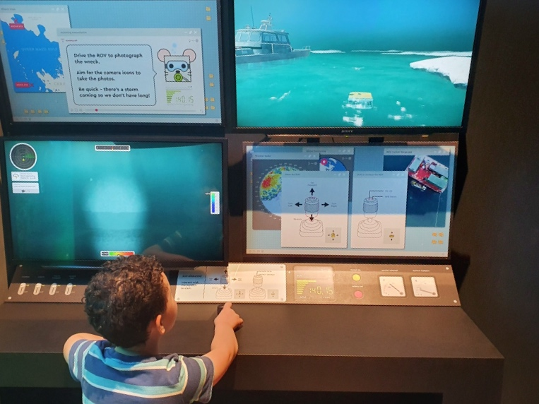 WA MARITIME MUSEUM BRICKWRECKS EXHIBITION: ROV EXPERIENCE PROJECT